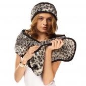 Полоска на голову (меринос леопард чёрный)