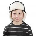 Детская шапка-ушанка (скандинавка синяя)