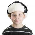 Детская шапка-ушанка (скандинавка чёрная)