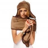 Шапка-ушанка (шоколадный верблюд)