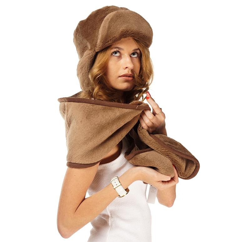 Шапка-ушанка (шоколадный верблюд