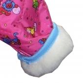 Детский комбинезон (меринос / плащевка детская малиновая)