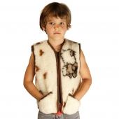 Детский жилет (меринос овечки)