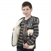 Детский жилет из шерсти мериноса Аляска