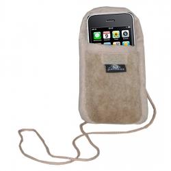 Чехол для iPhone, на шею (верблюд серебристый)