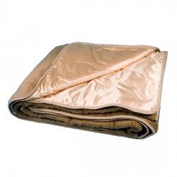 Двухслойное одеяло (верблюд / атлас-сатин завиток)