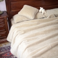 Спальные комплекты с двухслойным одеялом (верблюд  серебристый)