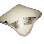 Подушка (кашемир веточка / белый)