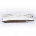 Ортопедическая подушка (кашемир веточка / шоколадный верблюд)