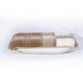 Ортопедическая подушка (меринос белый / квадраты)