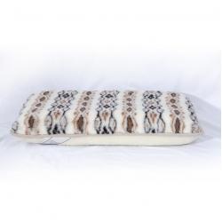 Ортопедическая подушка (меринос белый / фольклор)