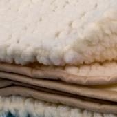 Легкое одеяло (меринос кружок)
