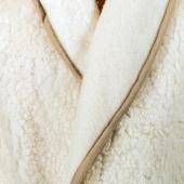 Халат мужской (меринос белый)