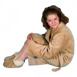 Халат женский (серебристый верблюд)