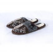 Шлёпанцы (аляска / меринос белый)