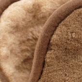 Домашние высокие тапочки (шоколадный верблюд)