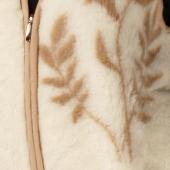 Женский жилет (кашемир веточка)