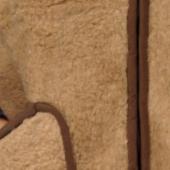 Мужской жилет (лама)