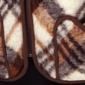 Женский жилет (меринос клетка)