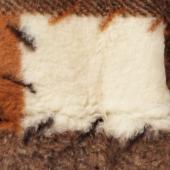 Женский жилет (меринос заплатка)