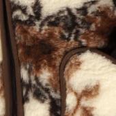 Женский жилет (меринос цветы)
