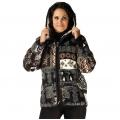 Женская куртка с капюшоном (аляска)