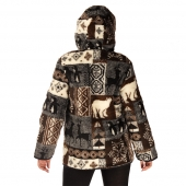 Куртка Аляска женская удлиненная отлично подойдет для городских условий...