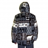 Мужская куртка (аляска) с капюшоном