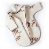 Детский конверт с рукавами (кашемир веточка)