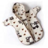 Детский конверт с рукавами (меринос овечки)