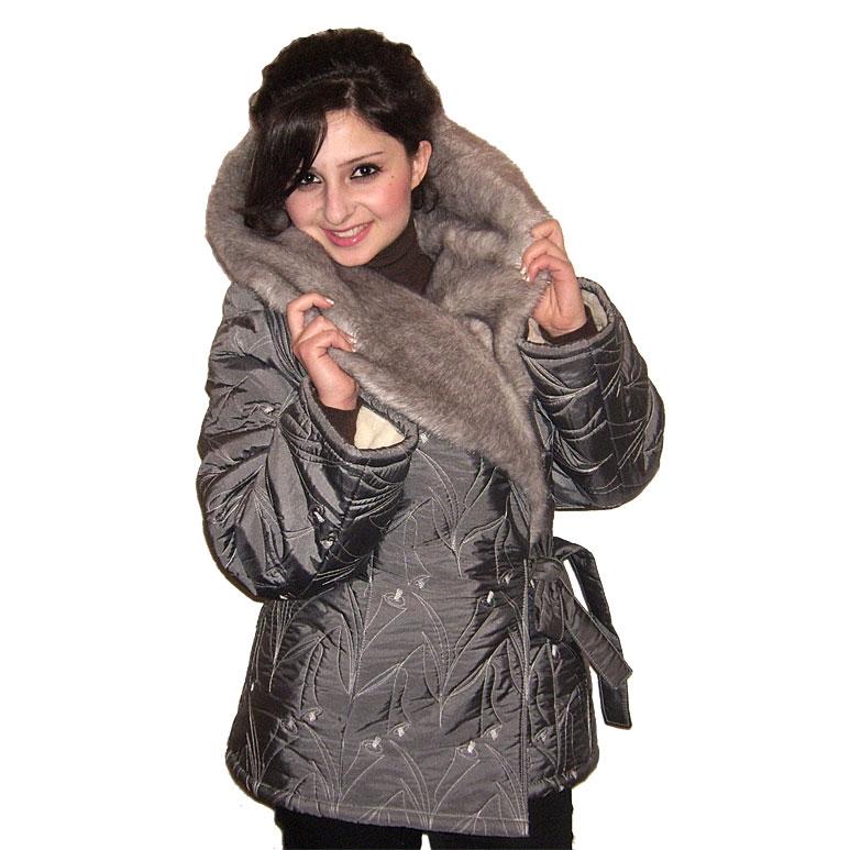 Купить Куртку С Воротником Норки