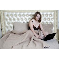 Легкое одеяло (лама)