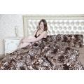 Одеяло (меринос коричневый леопард)