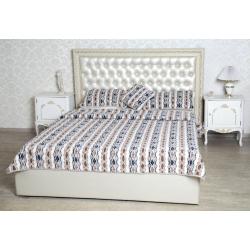 Спальный комплект с двухслойным одеялом меринос  фольклор
