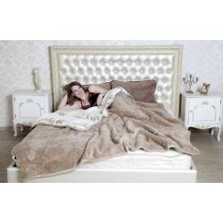 Двухслойное одеяло (кашемир веточка / верблюд)