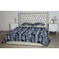 Спальный комплект с одеялом (меринос чёрный леопард)