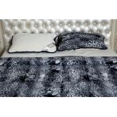 Легкое одеяло (меринос чёрный леопард)