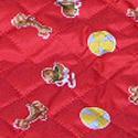 плащевка красная с детским рисунком