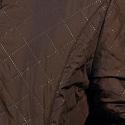 коричневая плащевка